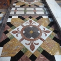 Mostly Petitor marble in AllSaints Church Babbacombe
