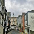 Totnes centre, Devon town