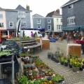 Totnes Market Square, Devon town