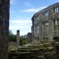 Elizabethan ruins at Berry Pomeroy Castle