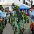 Morris dancing in Bovey Tracey