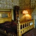 A Bedroom at Knightshayes Court, National Trust