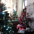 Christmas tree festival St. Gregory's Dawlish Devon