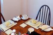 Breakfast at Sandays B&B in Dawlish Warren