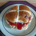 Easter special hot cross bun Sandays