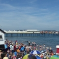 Hot day for the Torbay Airshow