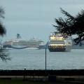 Cruise Ships in the bay
