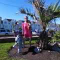 Greta visits Teignmouth